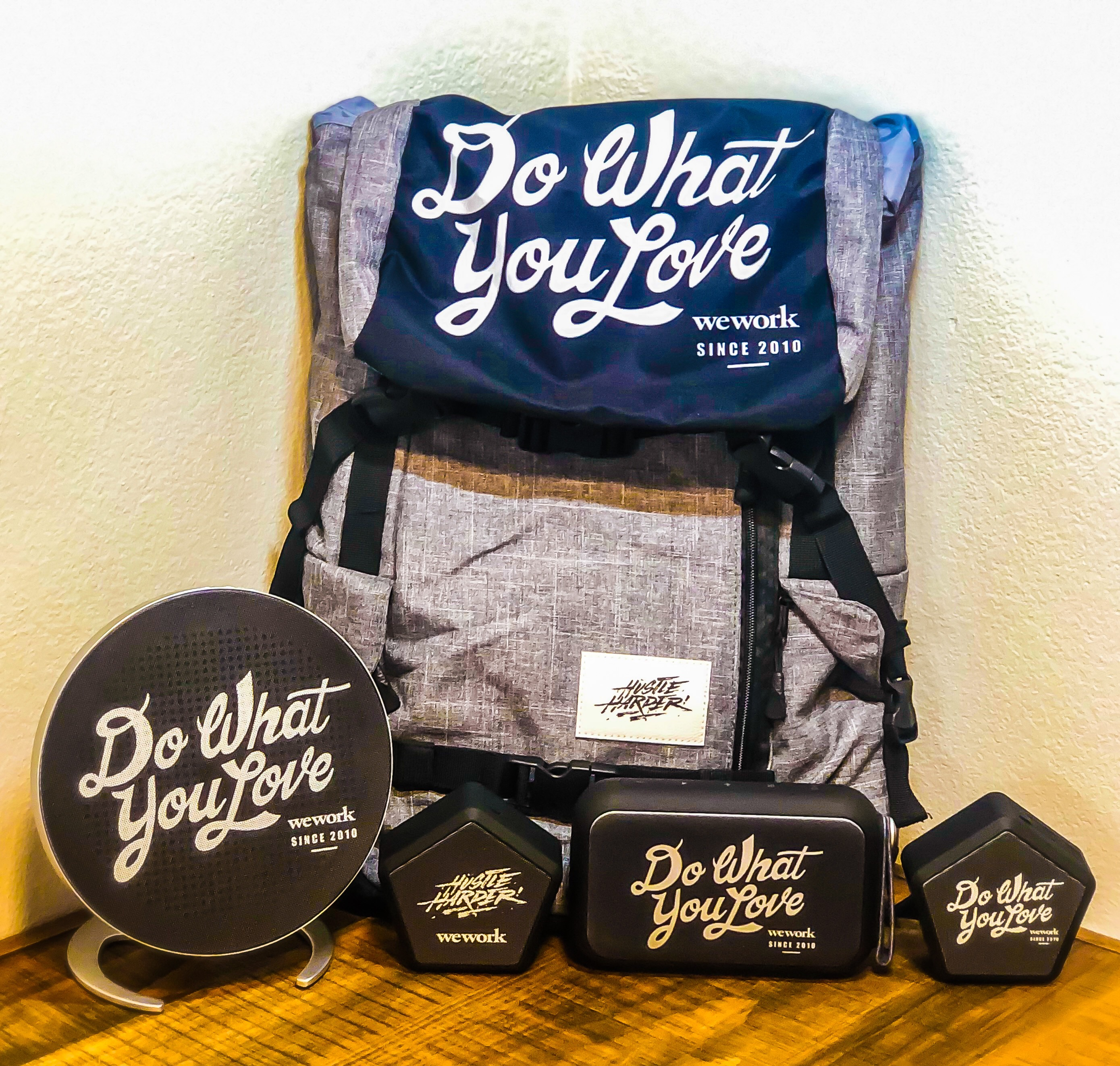 Company Swag Pack for Do What You Want