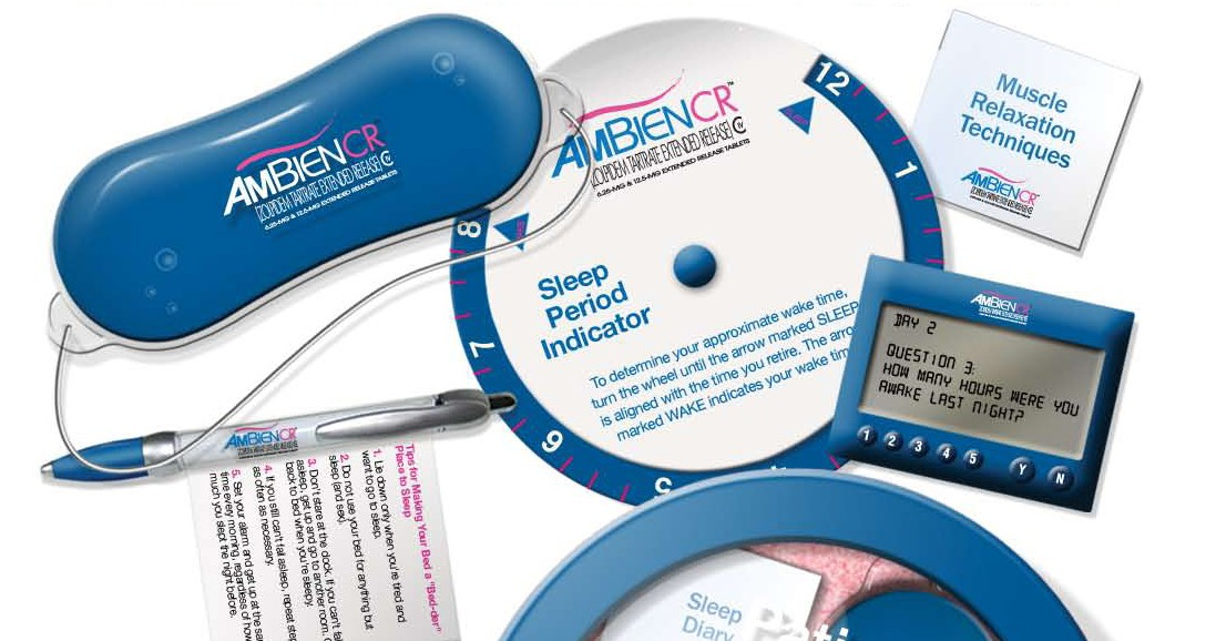 Branded Merchandise for Ambien CR
