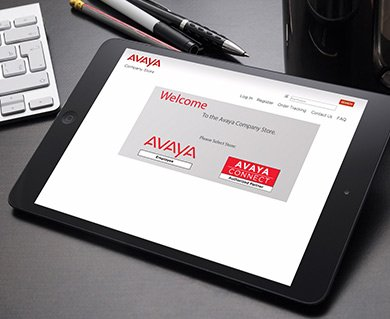 E Company Store for Avaya