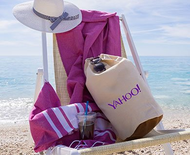 Corporate Promotional Merchandise for Yahoo